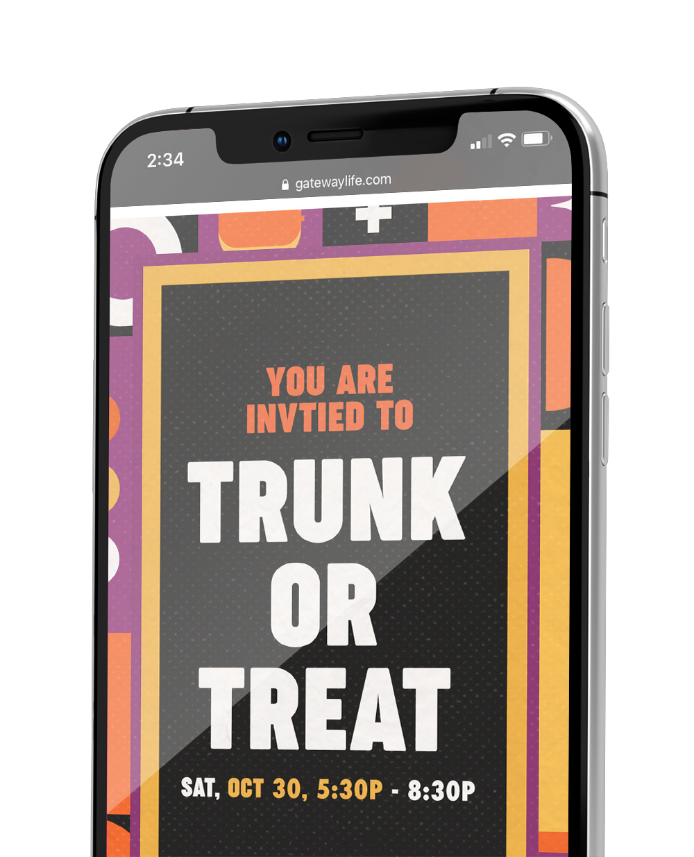 Trunk or Treat Shareable Graphics